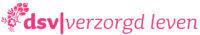 DSV roze logo met transparante achtergrond