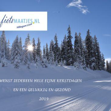 Fijn Kerstfeest toegewenst en een goed nieuw jaar met nieuwe mogelijkheden!