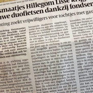 Persbericht over nieuwe duofietsen.