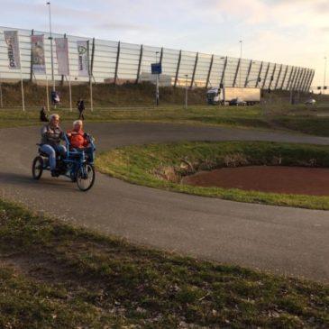 Training op nieuwe duofietsen