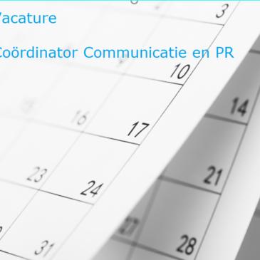 Wij zijn op zoek naar een nieuwe Coördinator Communicatie en PR